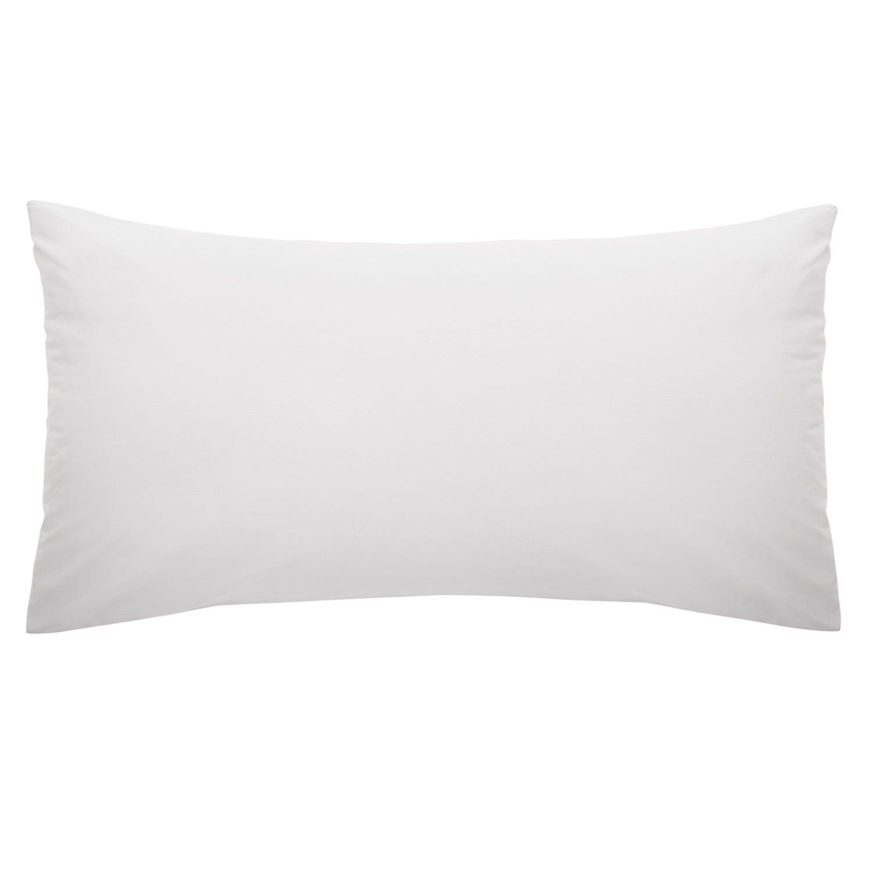 Funda de almohada 52x91 Cemento