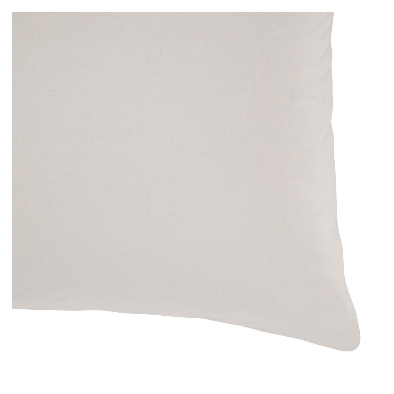 Funda de almohada 300 Hilos Liso Beige 52 x 76 cm