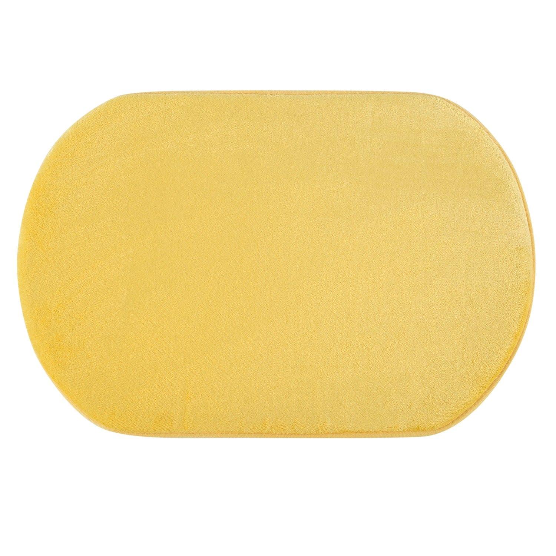 Pisos de baño 40 x 60 cms M Foam Amarillo Oval