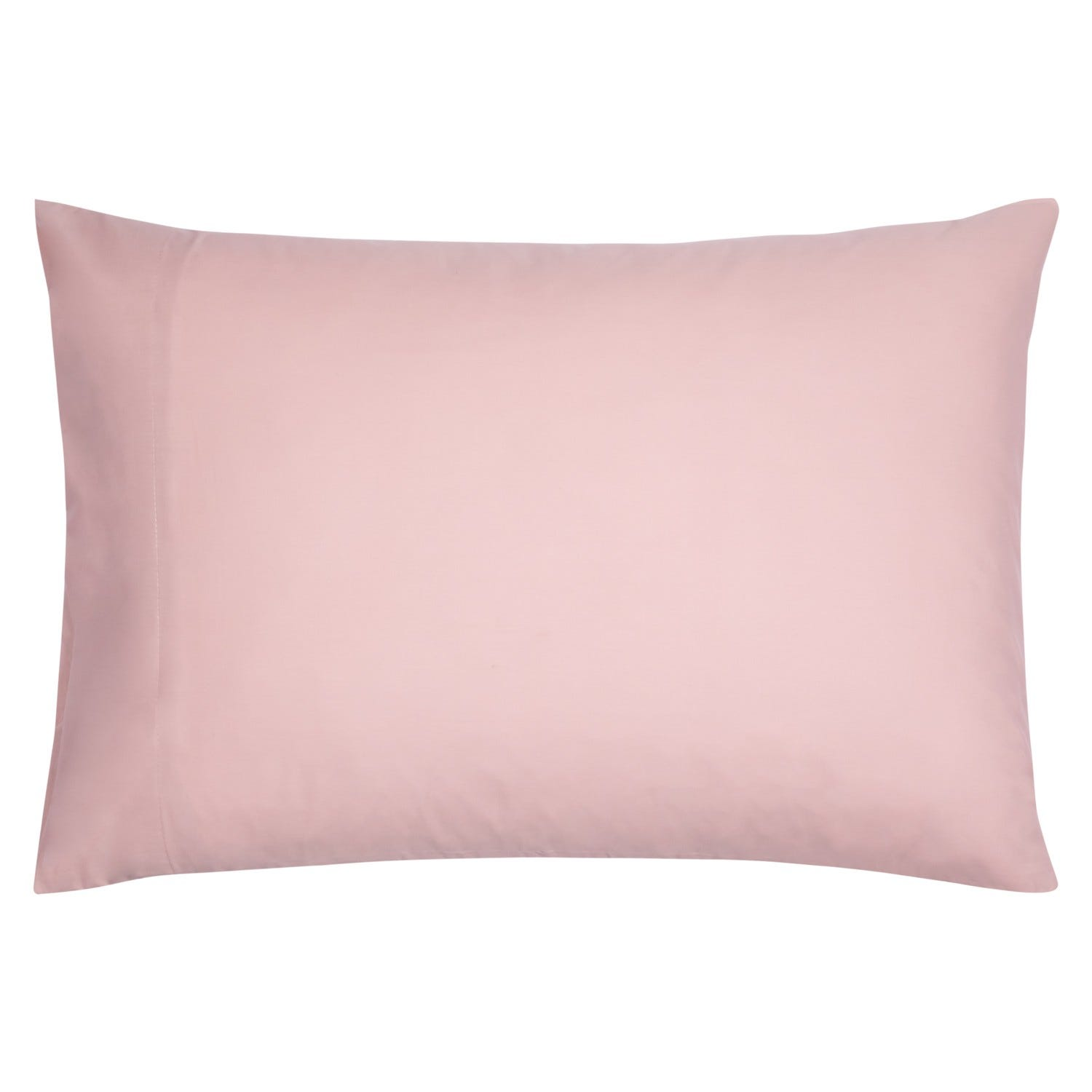 Set 2 Fundas almohada 52x76 Liso Rose 200H