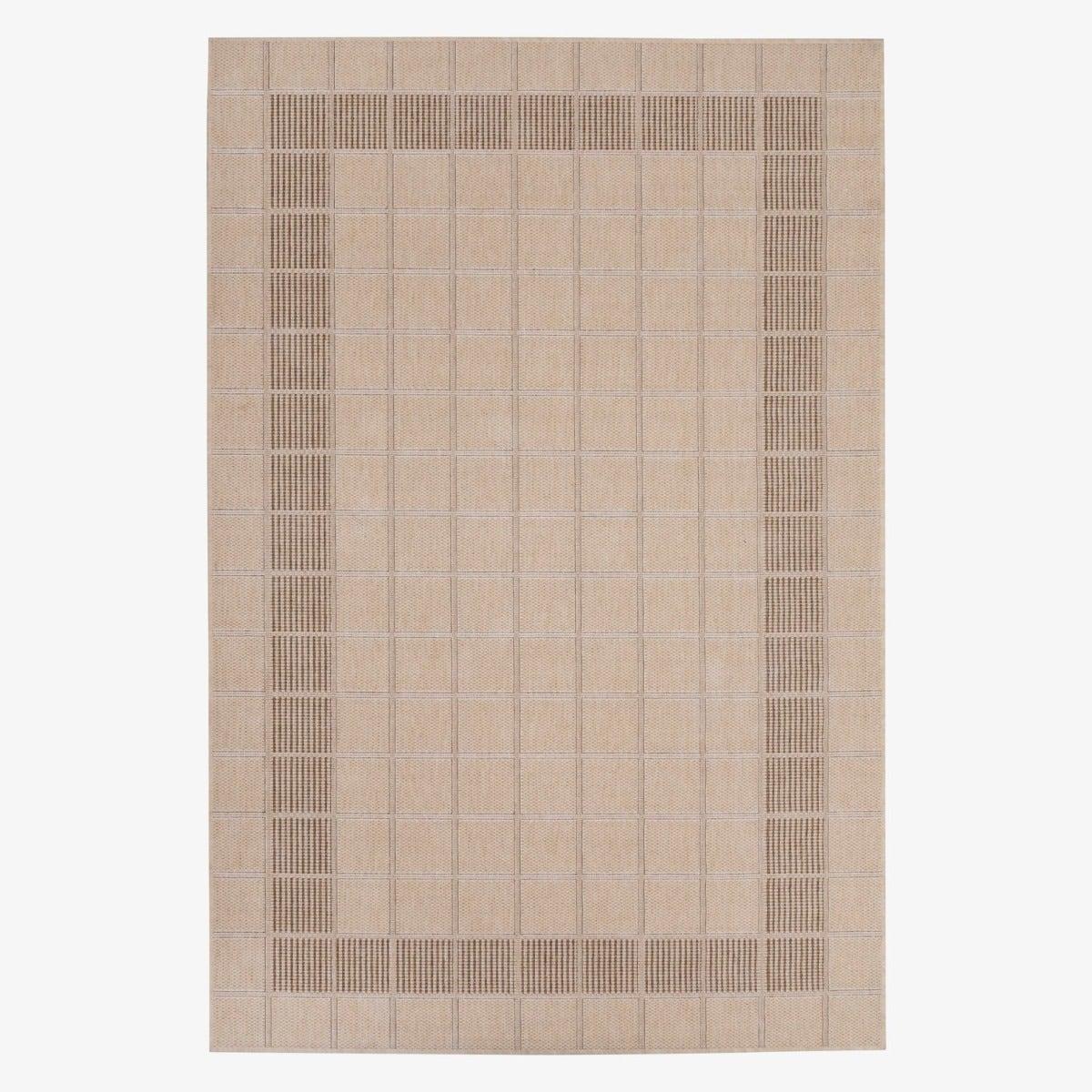 Alfombra sisal beige 160x230cm