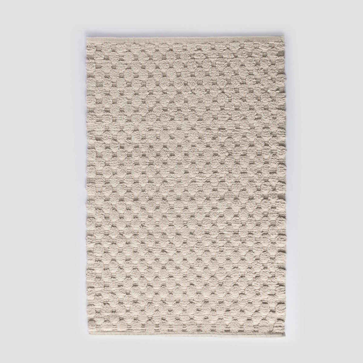 Piso Baño Algodón  50X80 Dots Sand