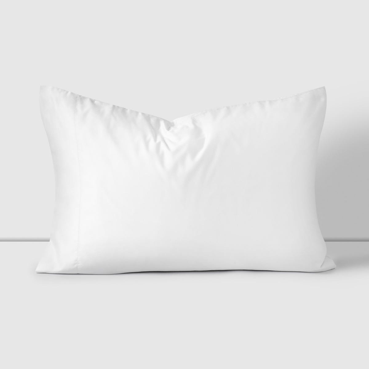Fundas de Almohada 200H Liso Blanco 52x76 cm