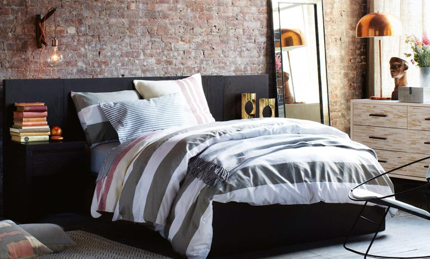 Lleva el estilo industrial a tu dormitorio en 4 pasos