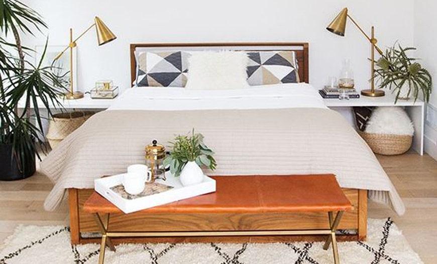 Cómo llevar el estilo Mid-Century Modern a tu dormitorio